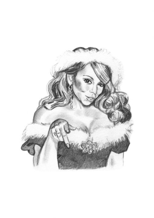 Mariah Carey All I Want For Christmas (A4)