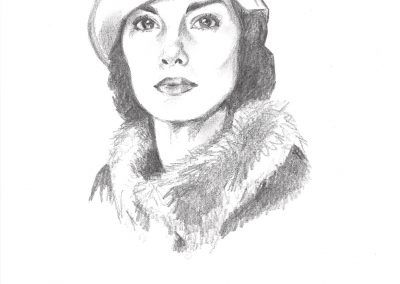 LADY MARY CRAWLEY (DOWNTON ABBEY)