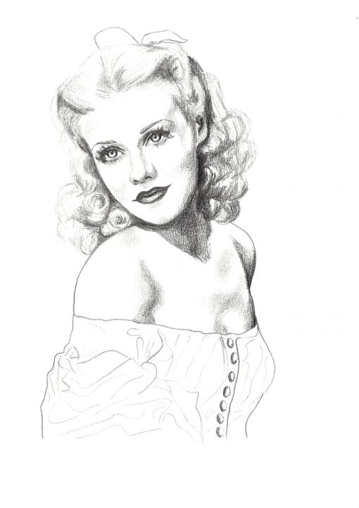 GINGER ROGERS (A4)