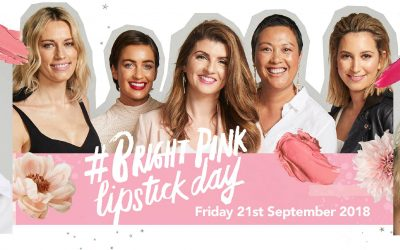 BRIGHT PINK LIPSTICK DAY – 21 SEPTEMBER 2018