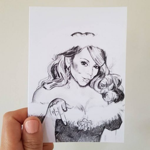 MARIAH ALL I WANT FOR CHRISTMAS (A6)